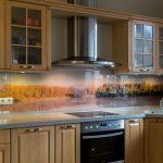 Fototapetes virtuvei
